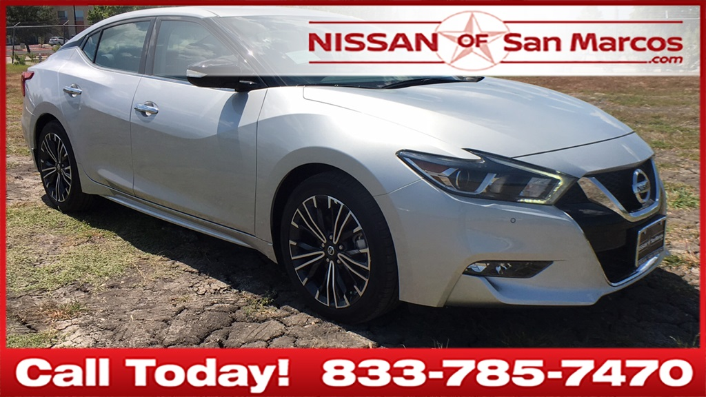 New 2018 Nissan Maxima 3 5 Sv 4d Sedan In San Marcos 280939