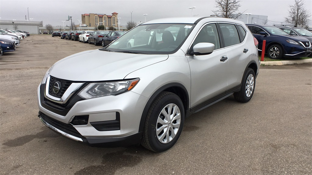 New 2019 Nissan Rogue S FWD 4D Sport Utility