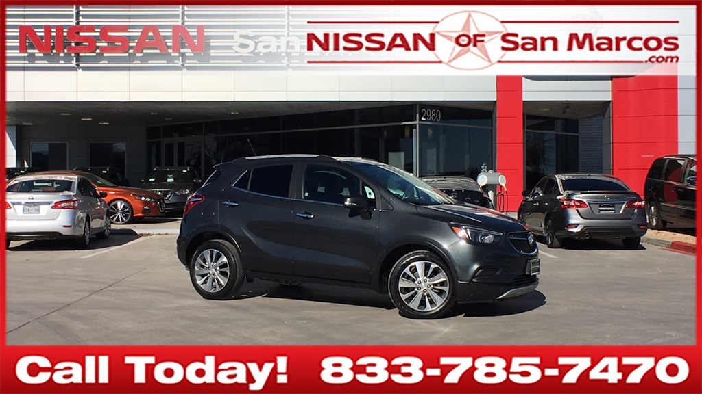 Buick San Marcos >> Pre Owned 2018 Buick Encore Preferred 4d Sport Utility In San Marcos